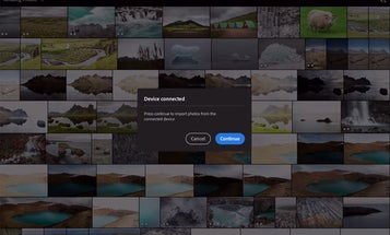 Adobe teases Lightroom's camera-to-tablet seamless import function in new video