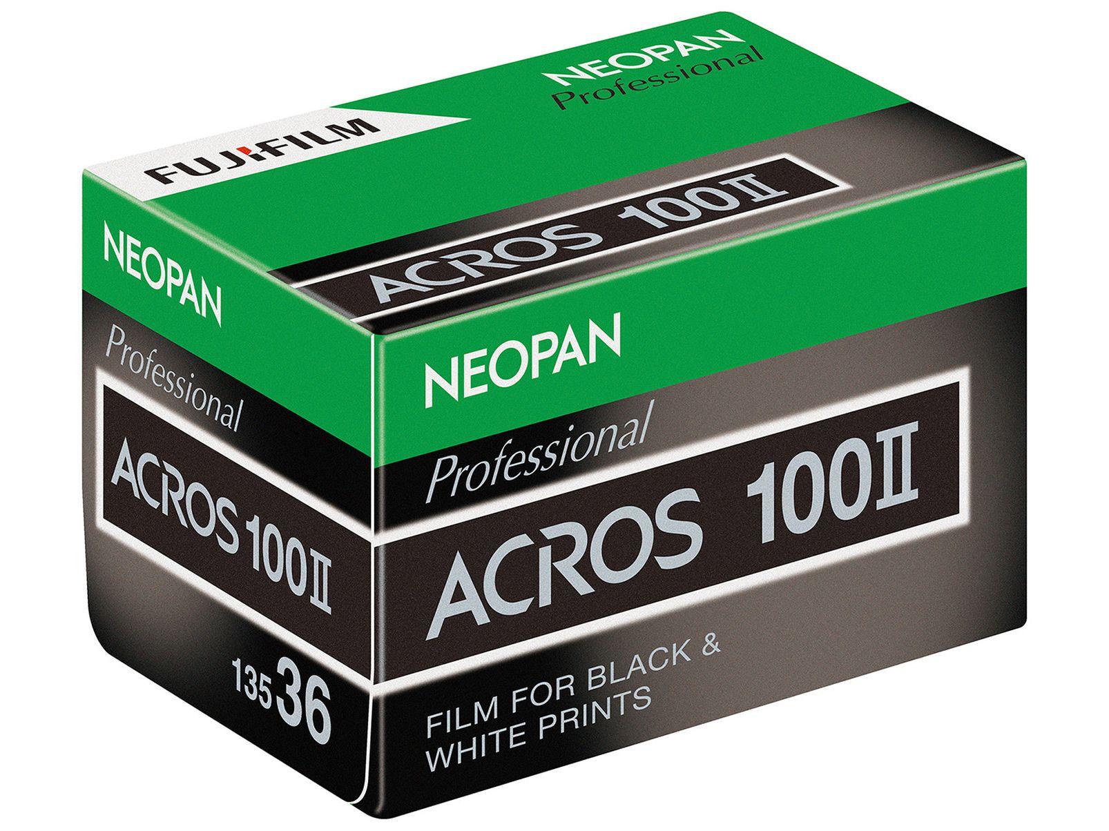 Fujifilm Neopan 100 Acros II film