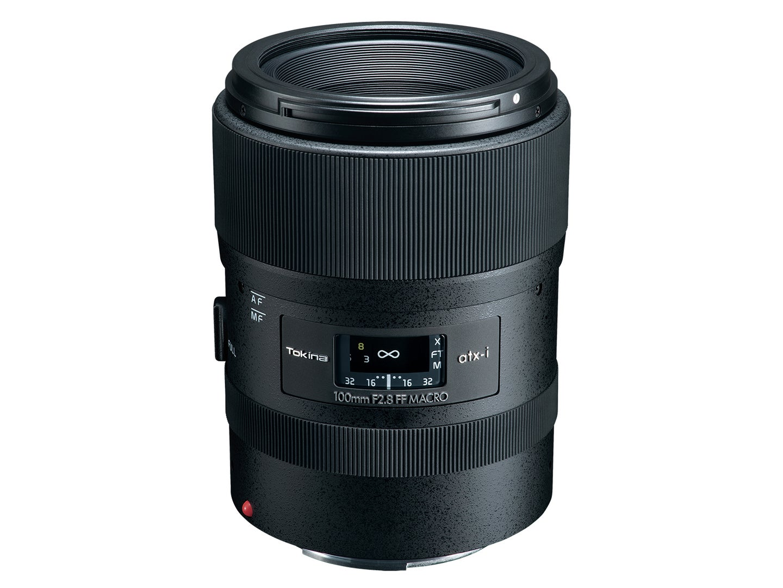 Tokina ATX-i 100mm F2.8 1:1 Macro lens for Canon and Nikon full-frame cameras