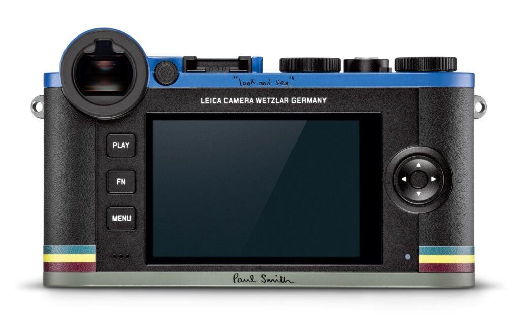 Leica CL Paul Smith Camera Back