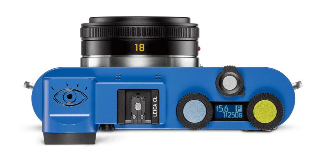 Leica CL Paul Smith Camera Top