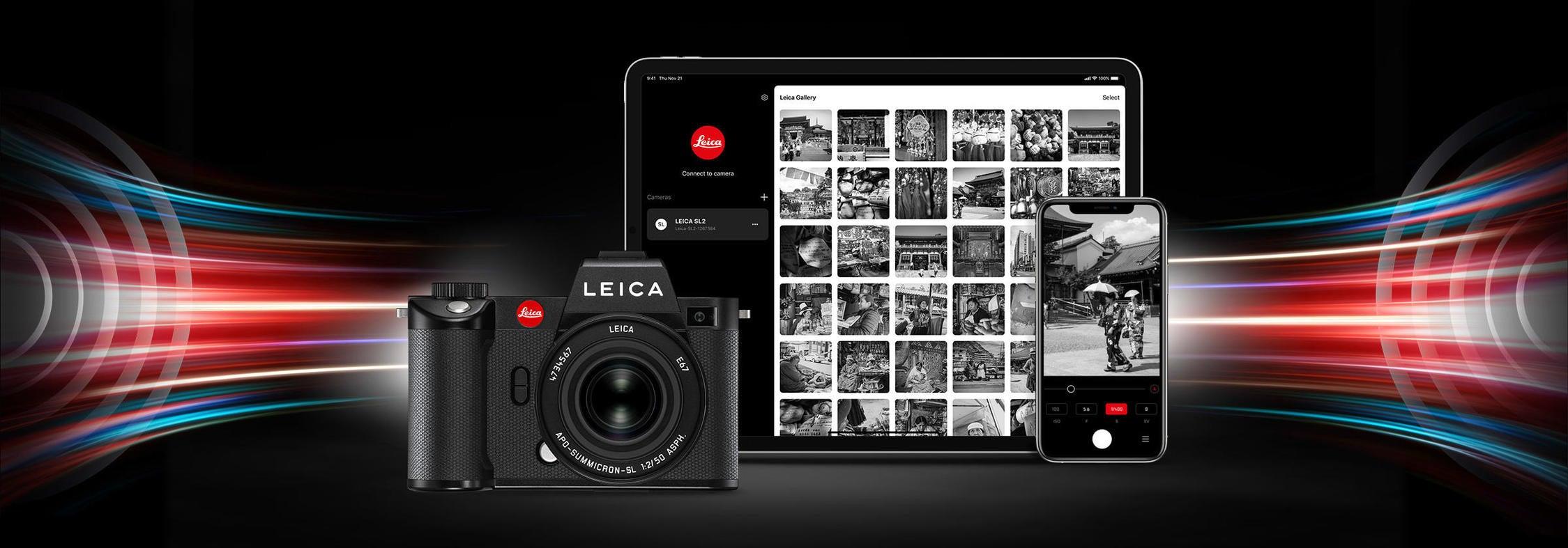 Leica Foto transfer app