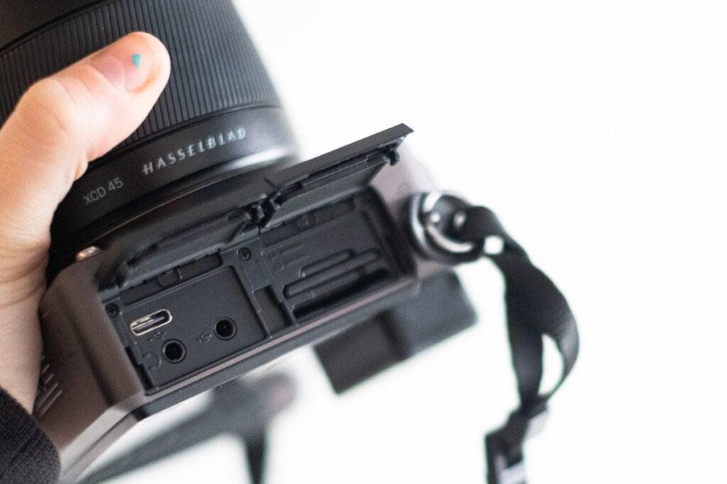 camera battery charging via USB