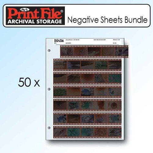Printfile 357B25 35mm Film Negative Storage Sheets