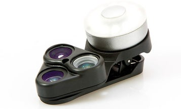 Use this offer code to get 15 percent off this 3-lens smartphone camera attachment