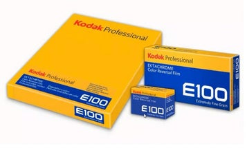 Kodak Ektachrome E100 120 and 4×5 formats will be available worldwide in the next 10 days