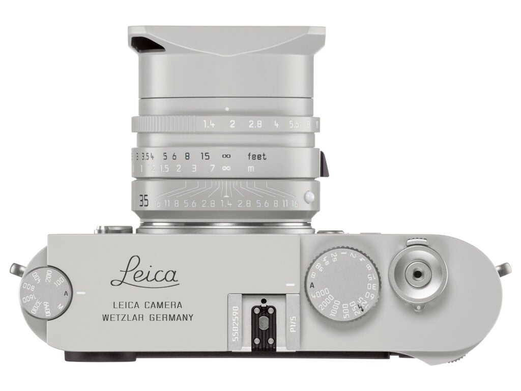 Leica M10-P Ghost Edition Top View