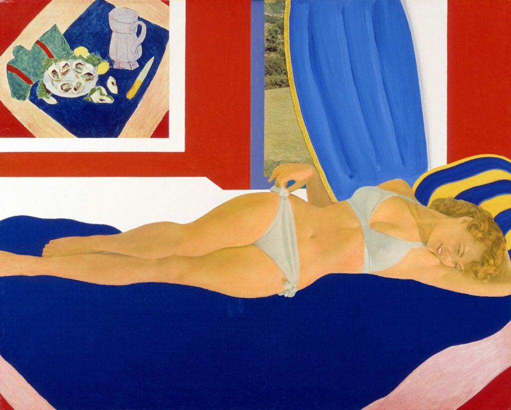 Tom Wesselmann, Great American Nude #36