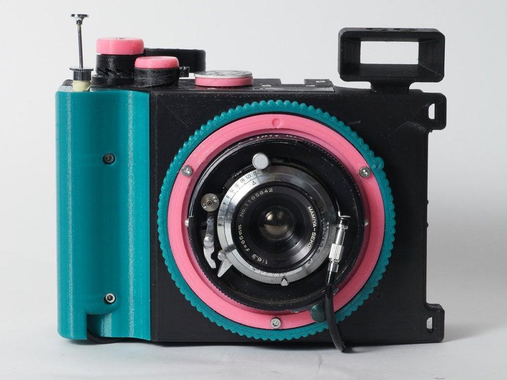 Brancopan 3D printed 35mm panoramic camera