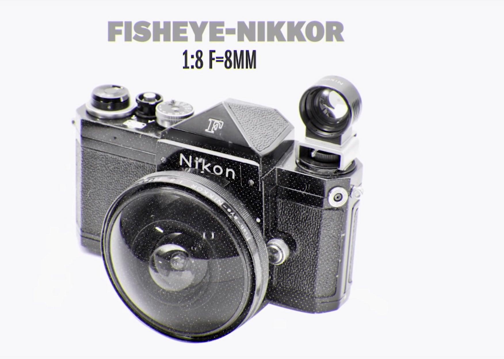 Nikon fisheye lens