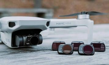 Tiffen's new ND filters teach DJI's new drone cameras optical tricks