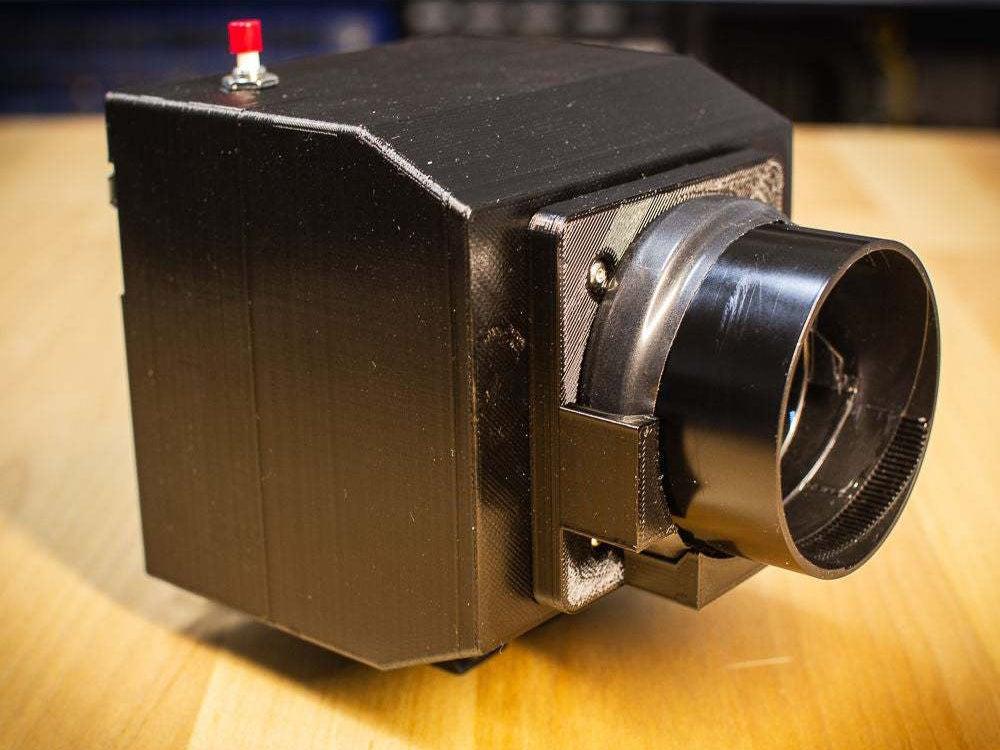 3D printed DIY camera