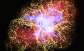 NASA's top observatories teamed up to capture an imploding star in captivating 3D
