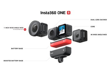 The Insta360 One R is a modular action and 360 camera that clicks together like Legos