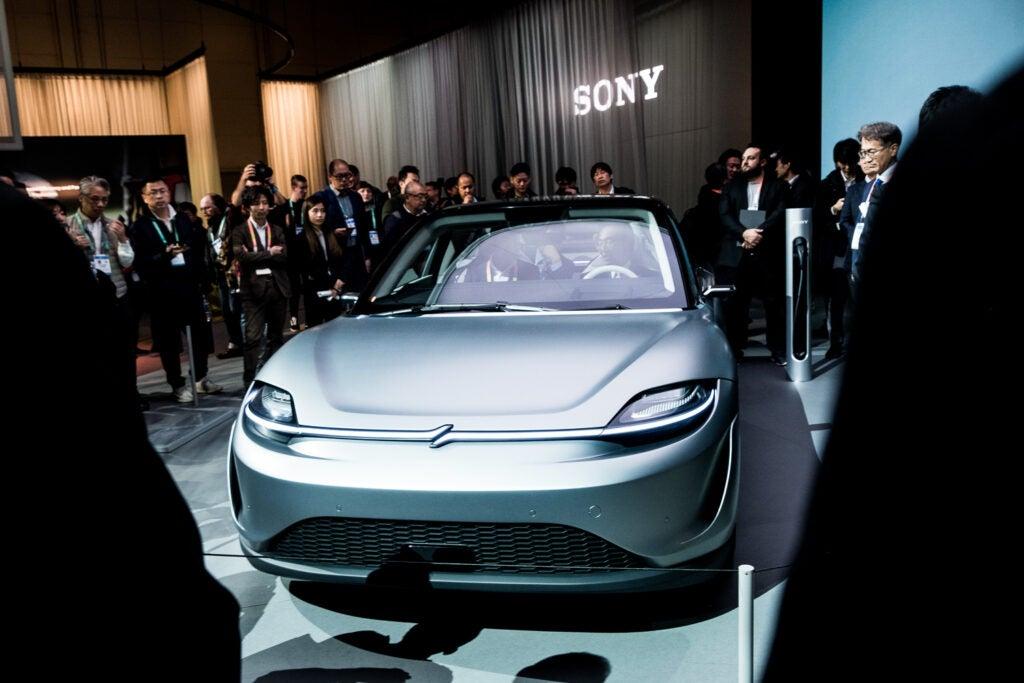 Sony concept car.