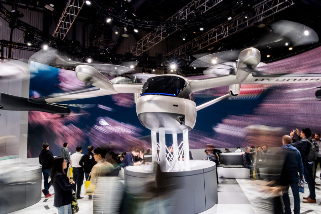 Hyundai flying car.