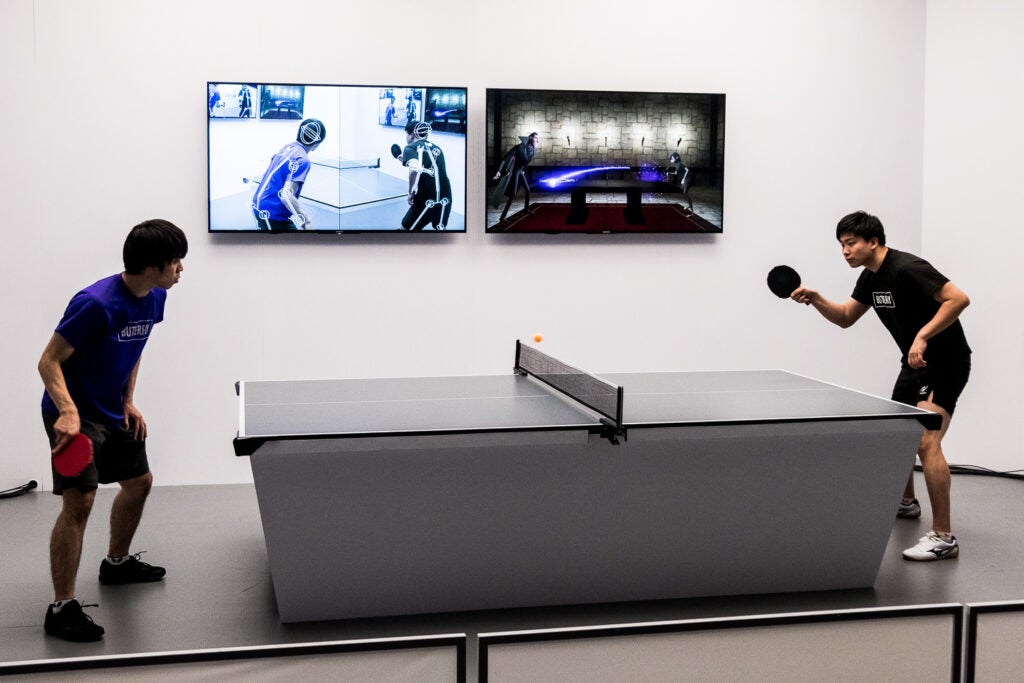 Ping pong in AR