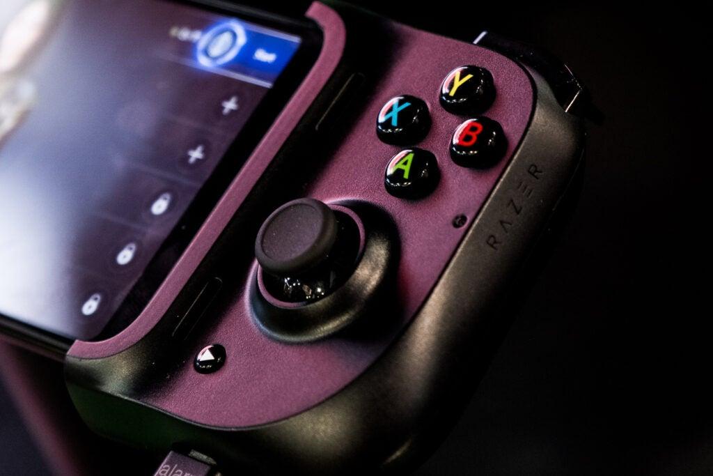 Razer smartphone game controller.