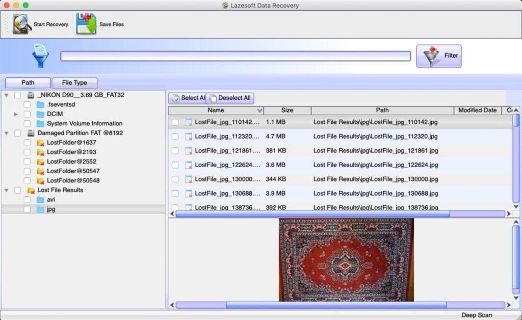 Lazersoft screenshot