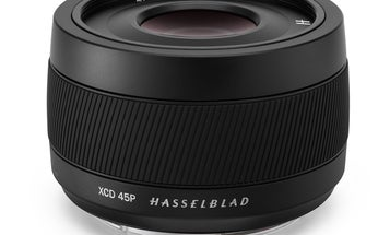 Hasselblad's XCD 4/45P is the lightest digital medium format lens around