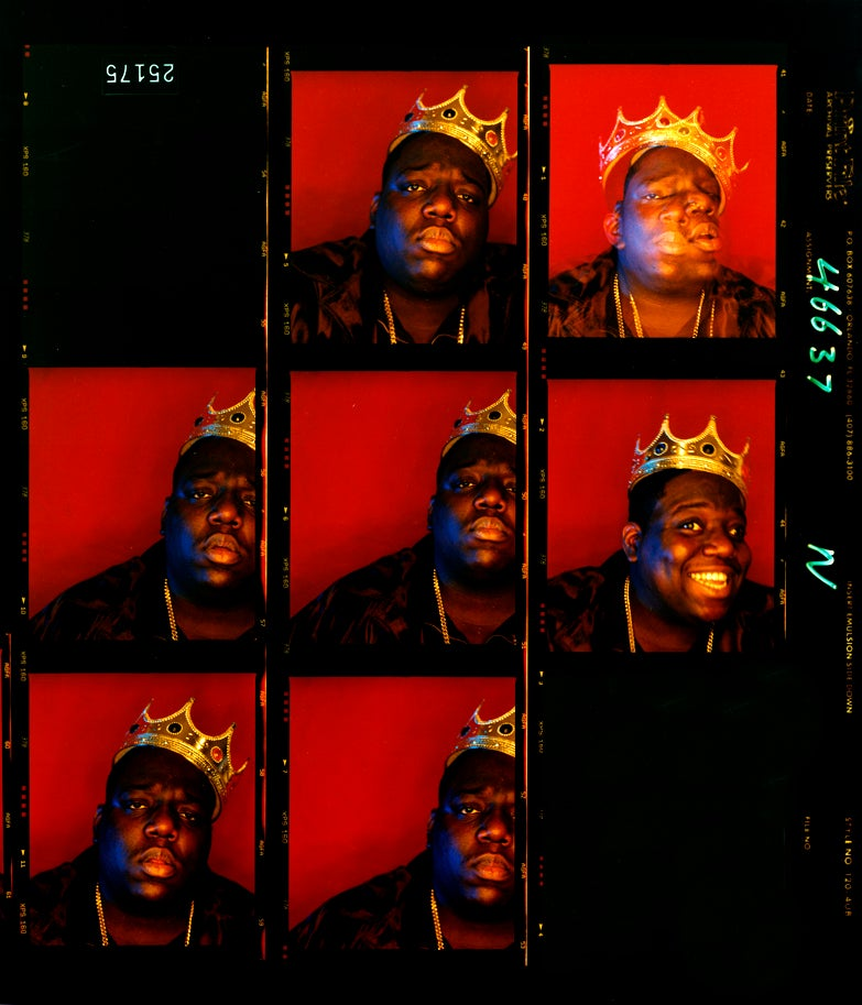 Biggie Smalls, King of New York, Wall Street, New York, 1997.