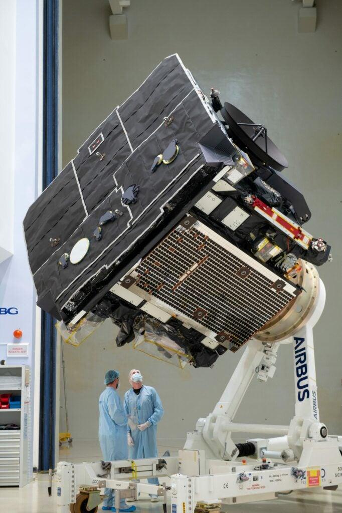 solar orbiter in the nasa facility