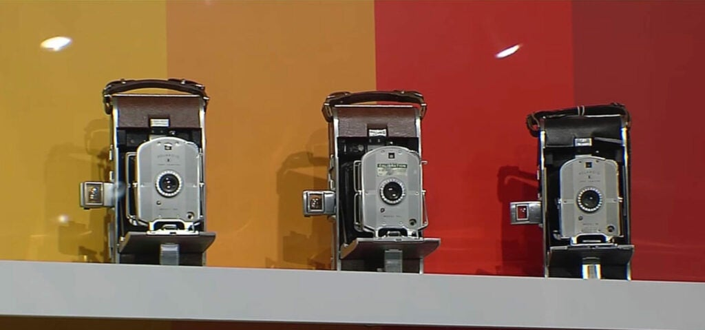 old polaroid cameras