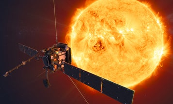 This solar orbiter will get up-close images of the sun