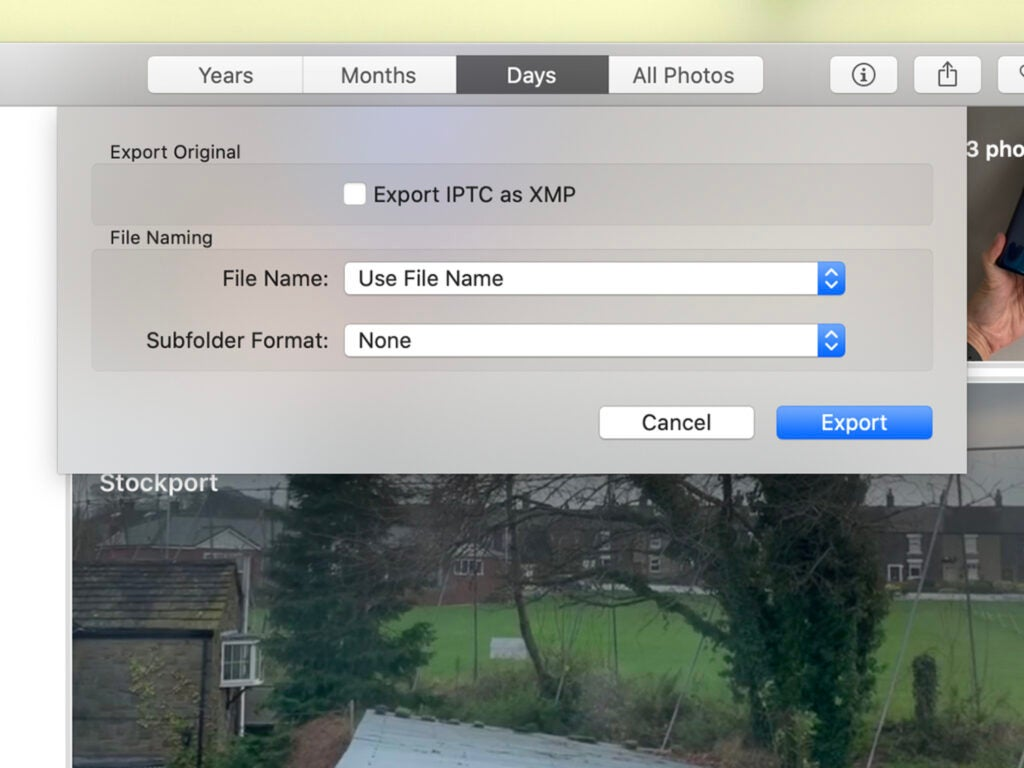 iCloud Photo Library wizard