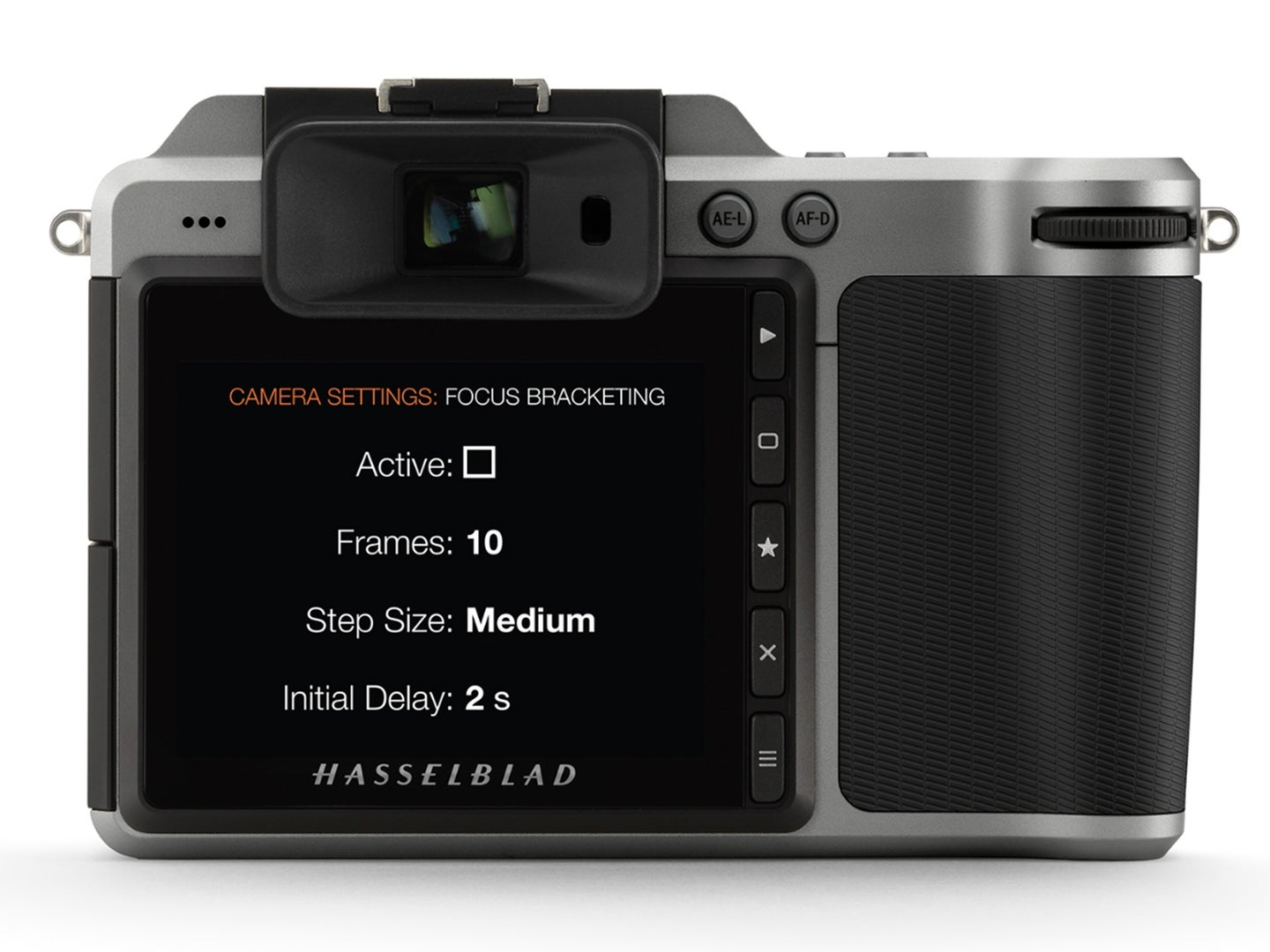 New Hasselblad firmware with focus bracketing