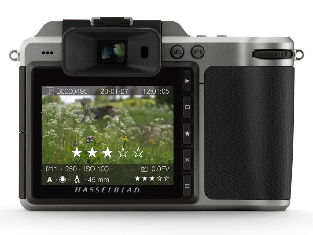 Hasselblad star-rating system