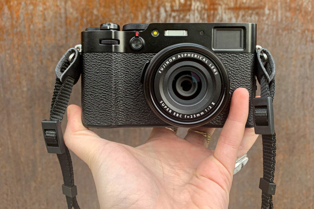 The Fujifilm X100V