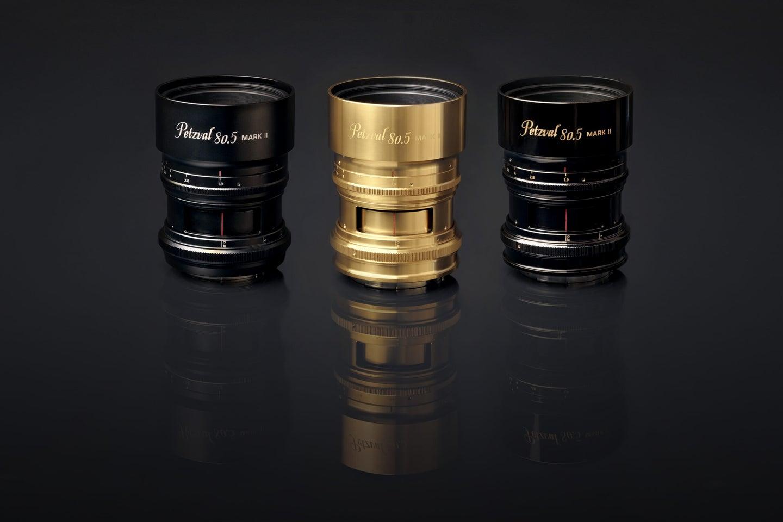 Petzval lens colors