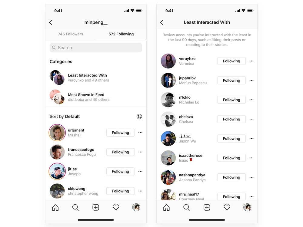 A new setting inside of the Instagram app