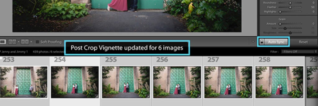 auto-sync on images in Adobe Lightroom