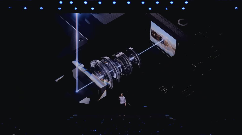 Samsung galaxy S20 phone camera zoom lens.
