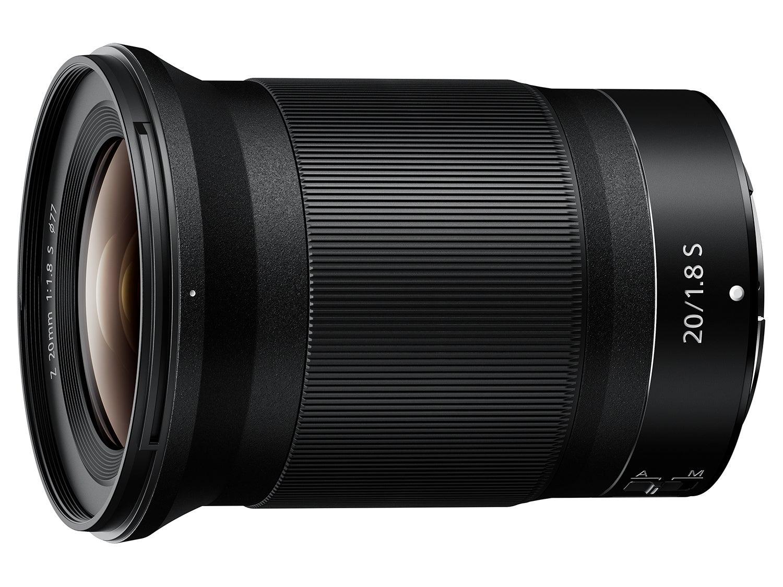 Nikon 20/1.8 S lens