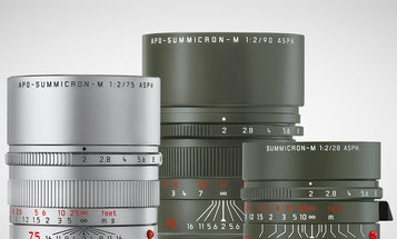 Leica released three colorful, limited-edition lenses for the M-system