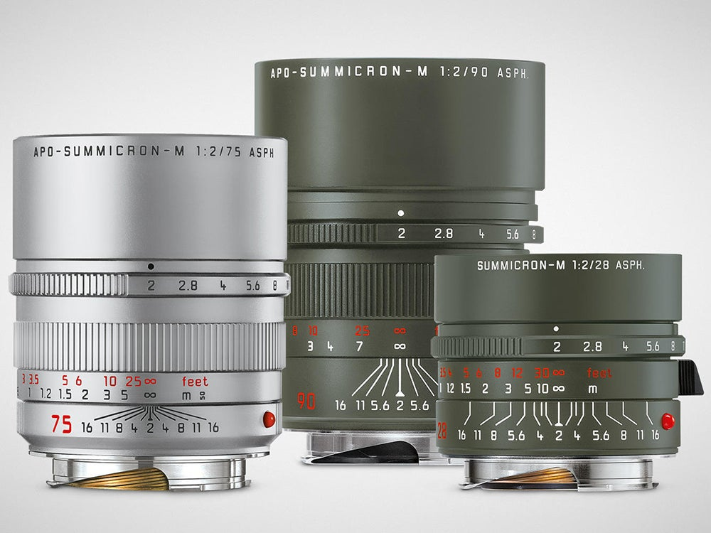 Leica limited edition lenses