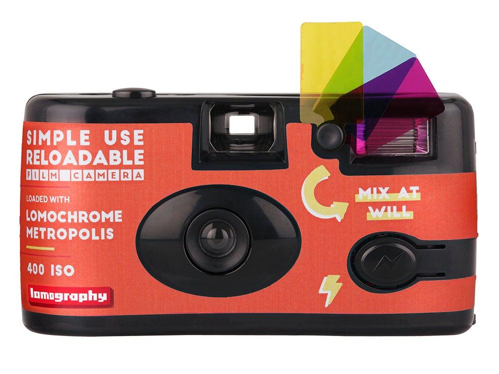 Lomography reloadable camera