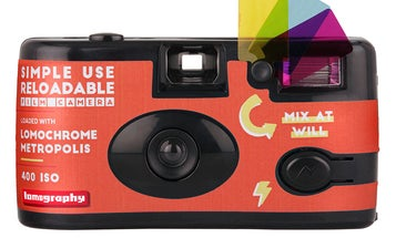 Lomography built a reusable disposable camera loaded with its Metropolis film