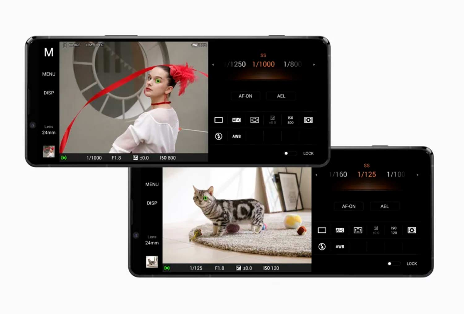 Sony's Xperia 1 Mark II features.