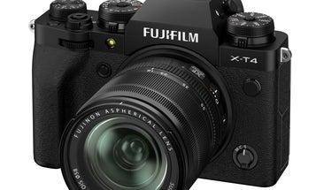 Fujifilm's X-T4 has arrived
