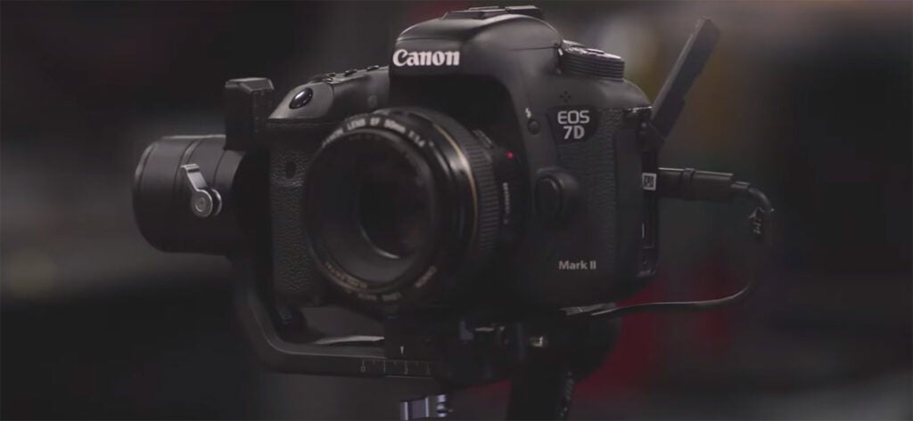Rented Canon camera and gimbal