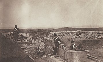 This spring Sotheby's will auction one of the earliest war photographs