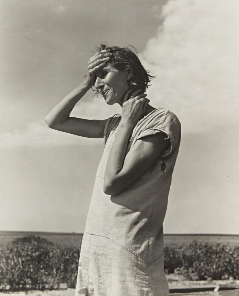 Woman of the High Plains, Texas Panhandle