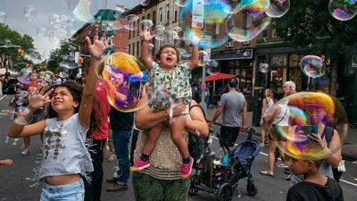 Brooklyn as seen through the eyes of Alex Webb and Rebecca Norris Webb