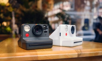 Hands on with the Polaroid Now instant film camera