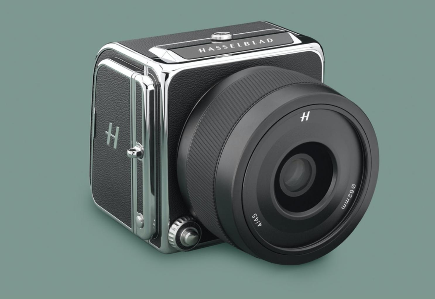 Hasselblad 907X 50C camera on green