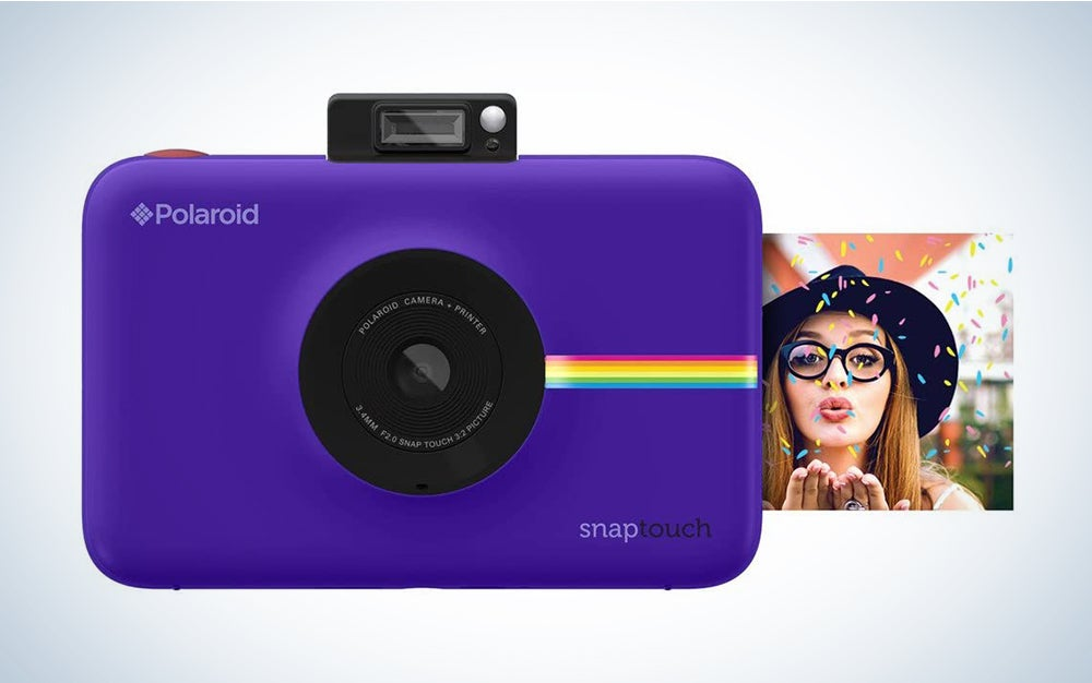 Zink Polaroid Snap Touch Portable Instant Print Digital Camera with LCD Touchscreen Display